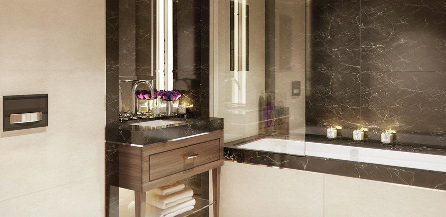 St Edward, 190 Strand, Temple House, Interior, Master Bathroom