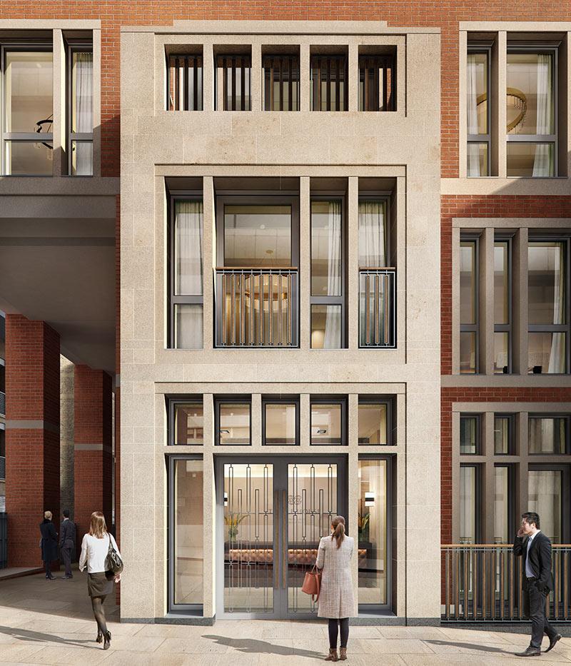 St Edward, 190 Strand, Temple House, Exterior, CGI