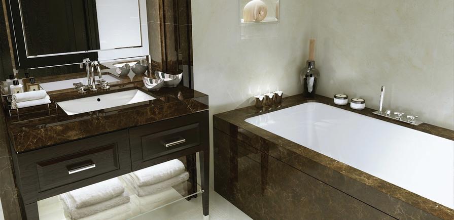 St Edward, 190 Strand, Wren, Clement & Gladstone House, Bathroom, CGI, Interior