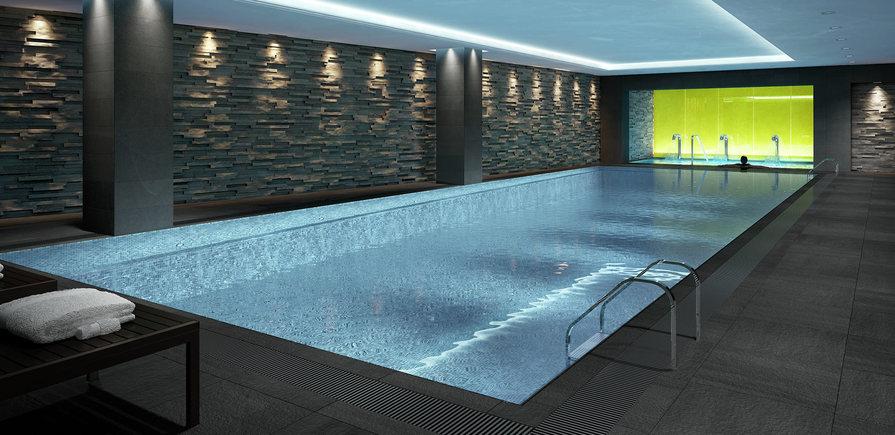 St Edward, 190 Strand, Swimming Pool, CGI