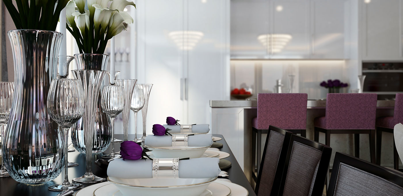 St Edward, 190 Strand, Penthouses, Dining