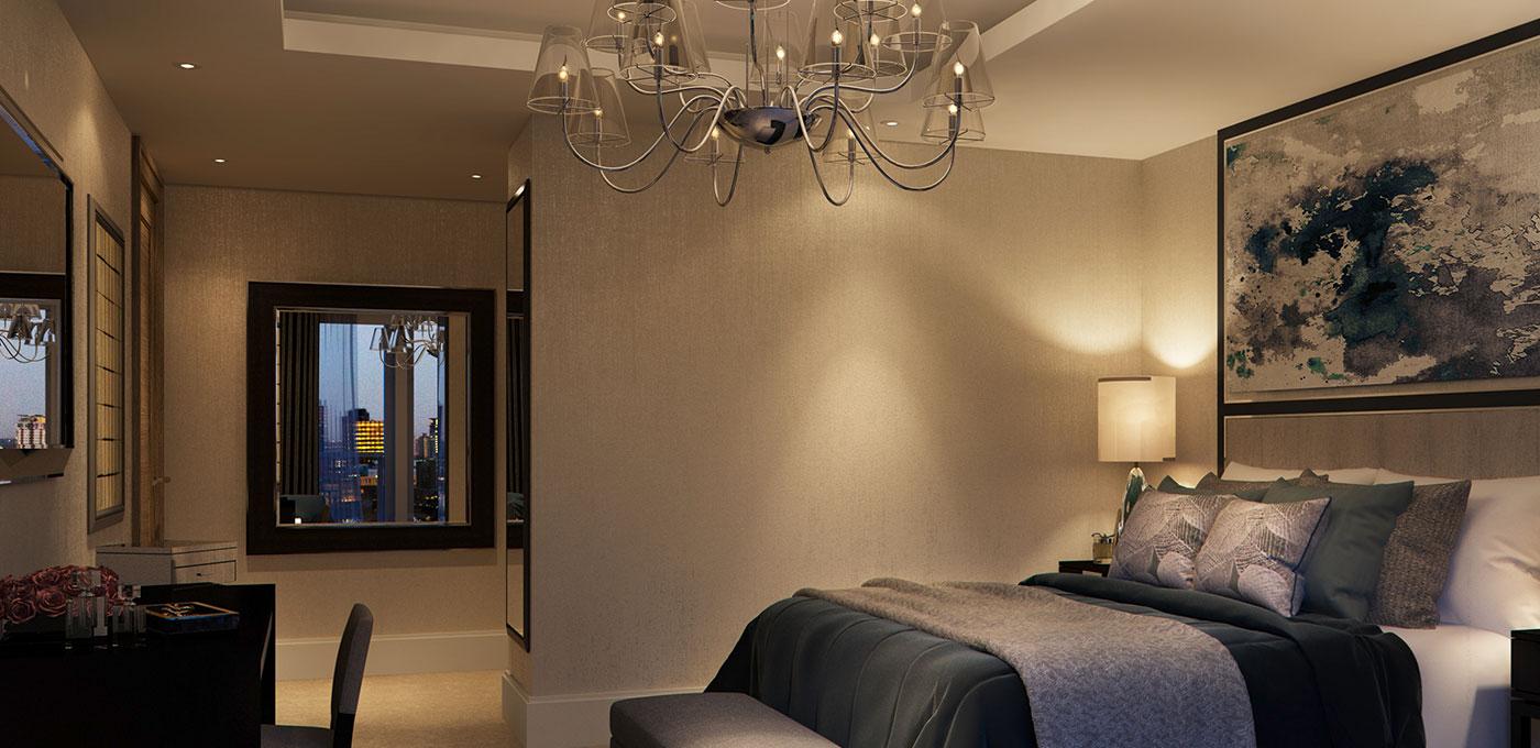 St Edward, 190 Strand, Penthouse, Living Area
