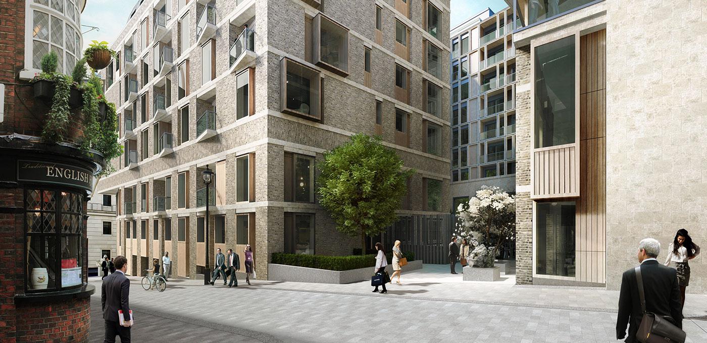 St Edward, 190 Strand, Penthouse, Balcony