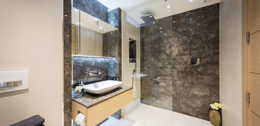 375 Kensington High Street, Benson House, Penthouse Show Apartment, Shower Room, Interior