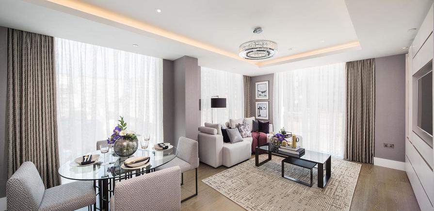 St Edward, 375 Kensington High Street, Edward House, Interior, Living Area