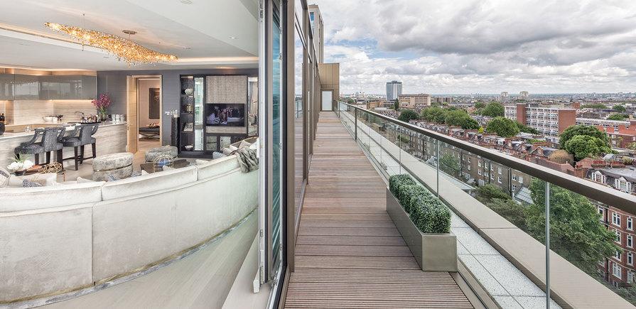 375 Kensington High Street, Benson House, Penthouse Show Apartment, Terrace