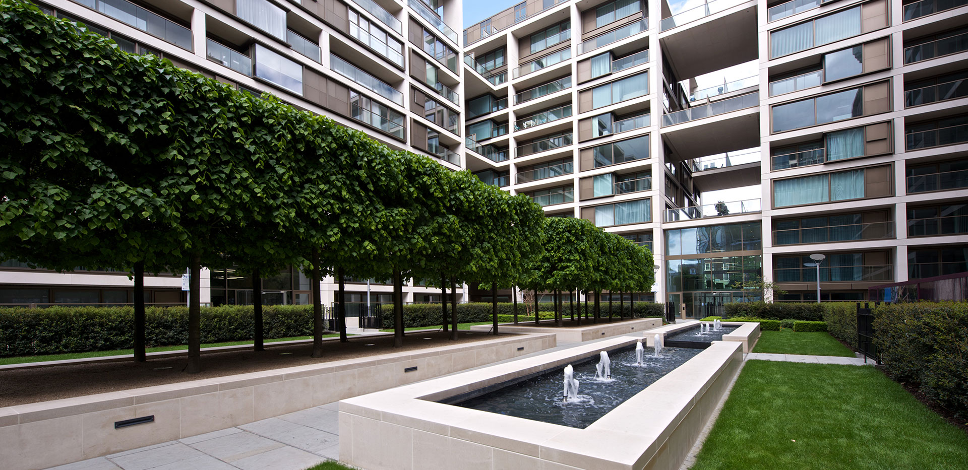 375 Kensington High Street, Benson House, Penthouse Show Apartment, Hallway, Interior