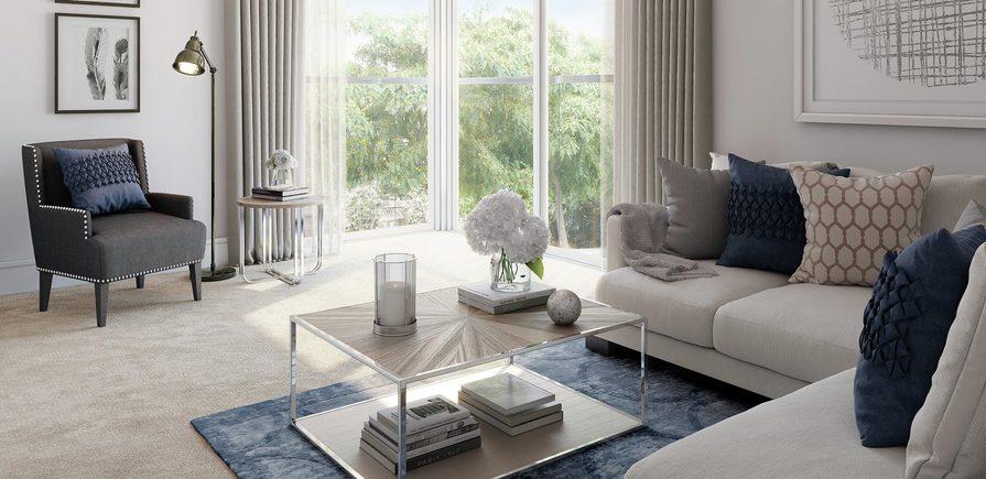 St Edward, Green Park Village, Interior, Living Room
