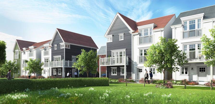 St Edward, Green Park Village, Exterior, Entrance, CGI