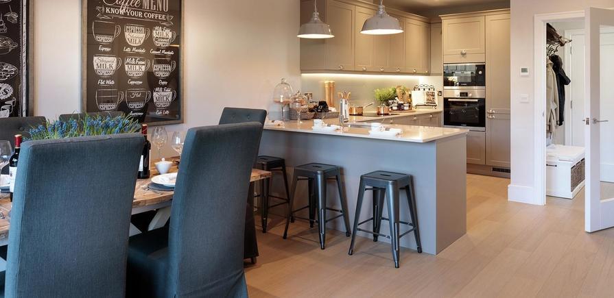 St Edward, Longwater Reach, Interior, Kitchen