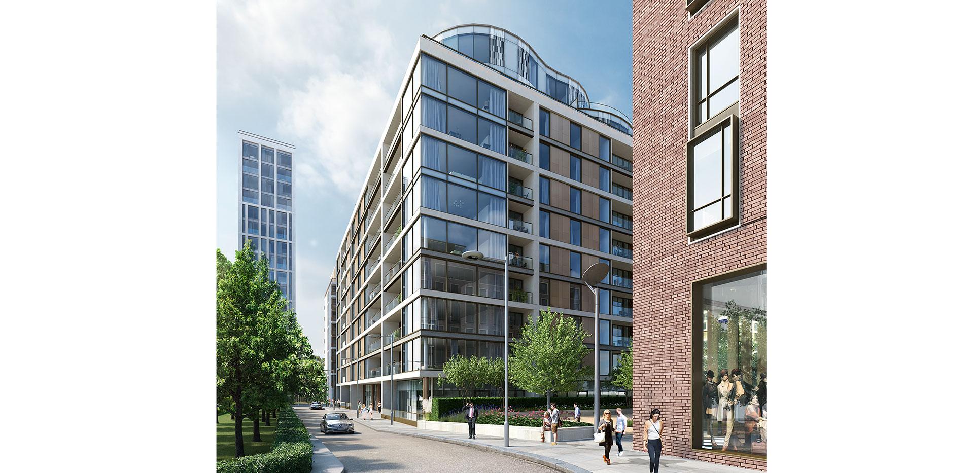 St Edwards, Kensington Row, Mowbray House, Kitchen CGI