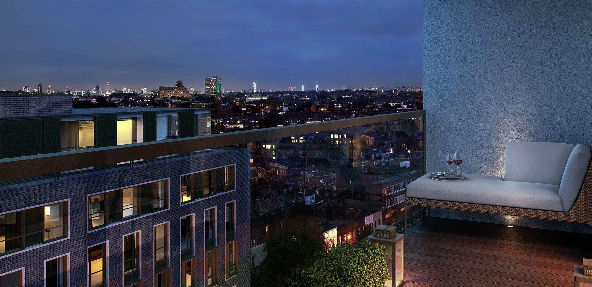 St Edwards, Kensington Row, Mowbray House, Lobby CGI