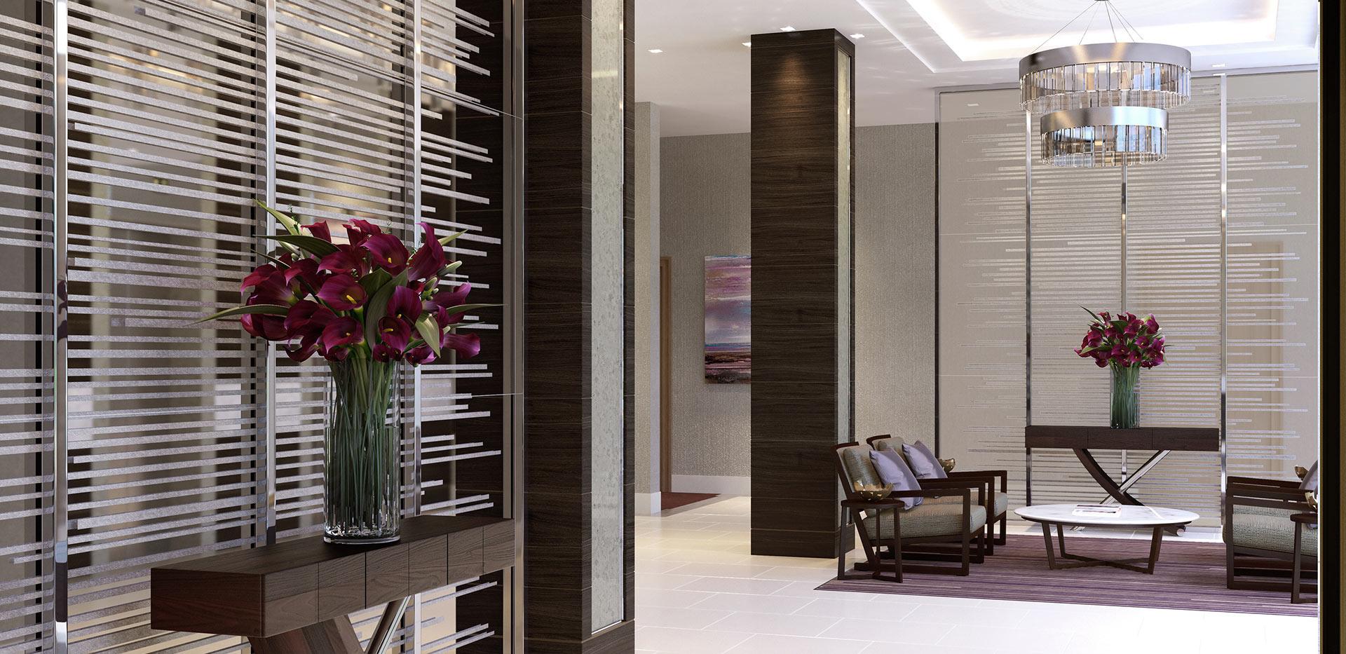 St Edward, Kensington Row, Thomas Earle House, Show Apartment, Interior, Bedroom 3