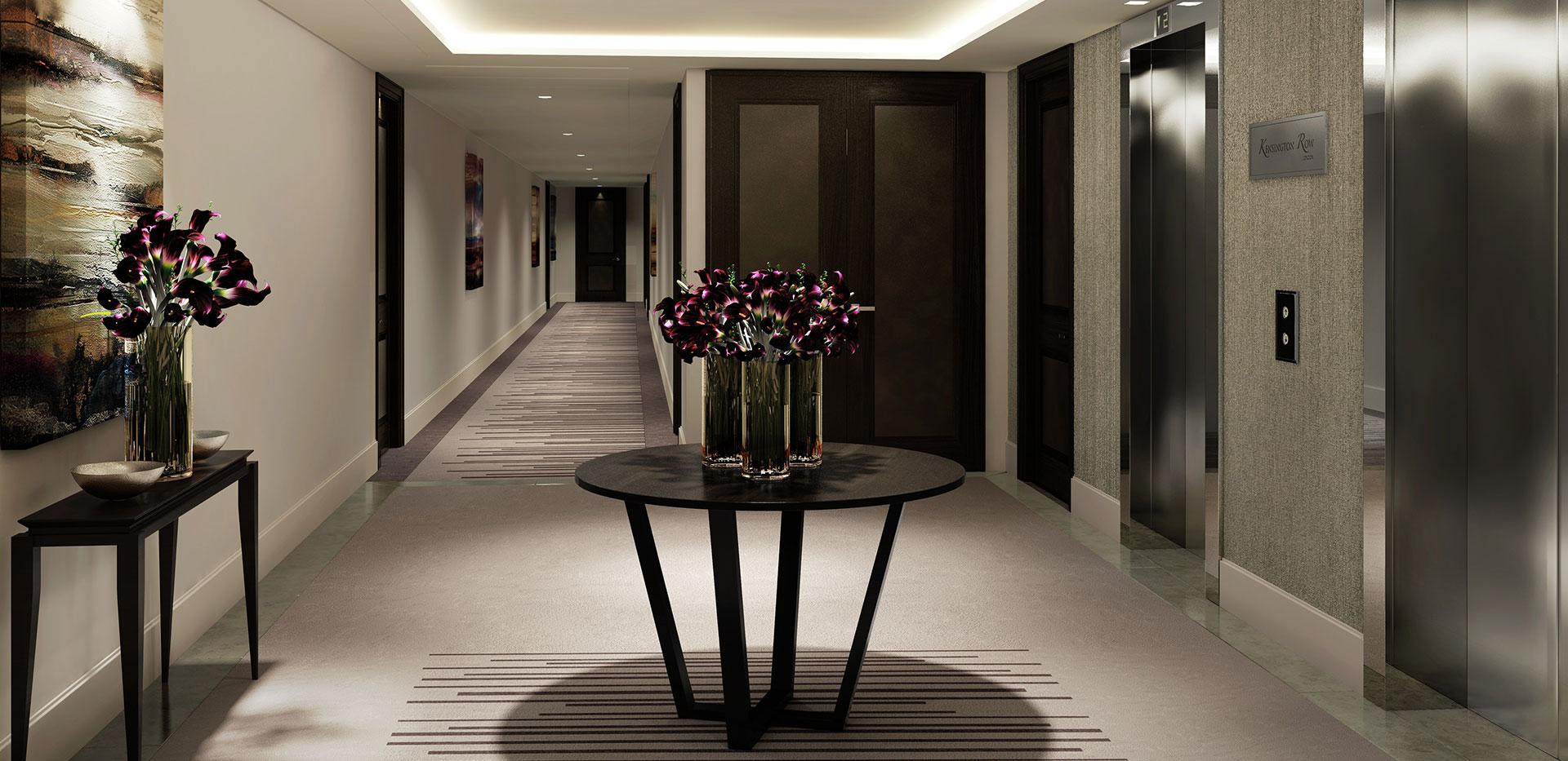 St Edward, Kensington Row, Thomas Earle House, Show Apartment, Interior, Kitchen