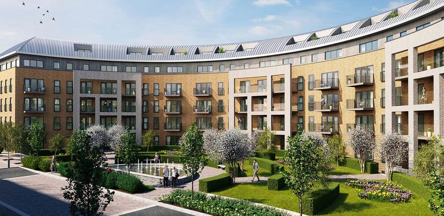 St Edward, Stanmore Place, Royal Crescent, Exterior CGI
