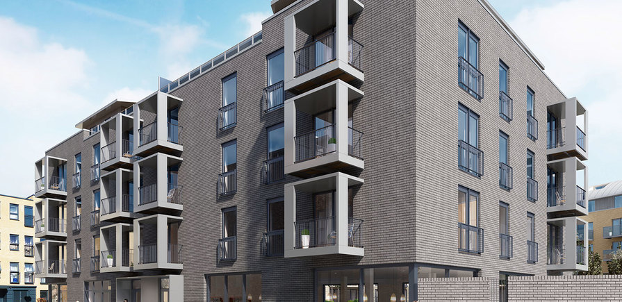 St Edward, Stanmore Place, William Court, CGI, Exterior