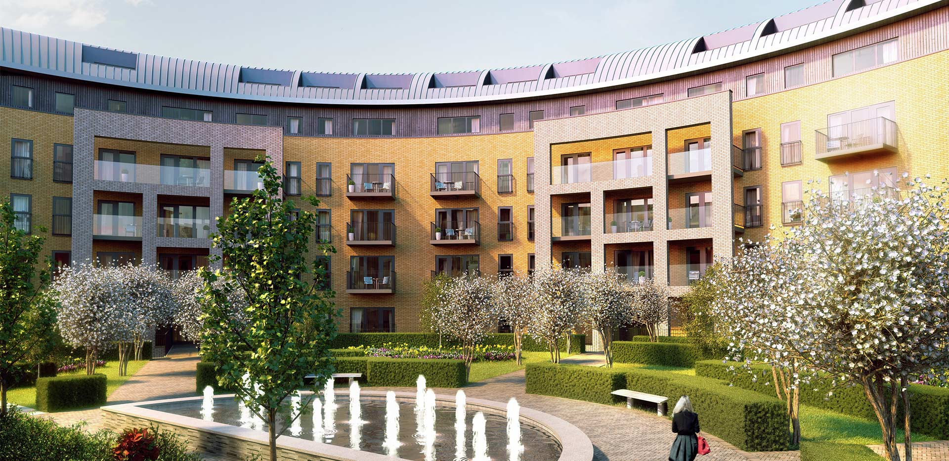 St Edward, Stanmore Place, Crown Mews, CGI, Exterior