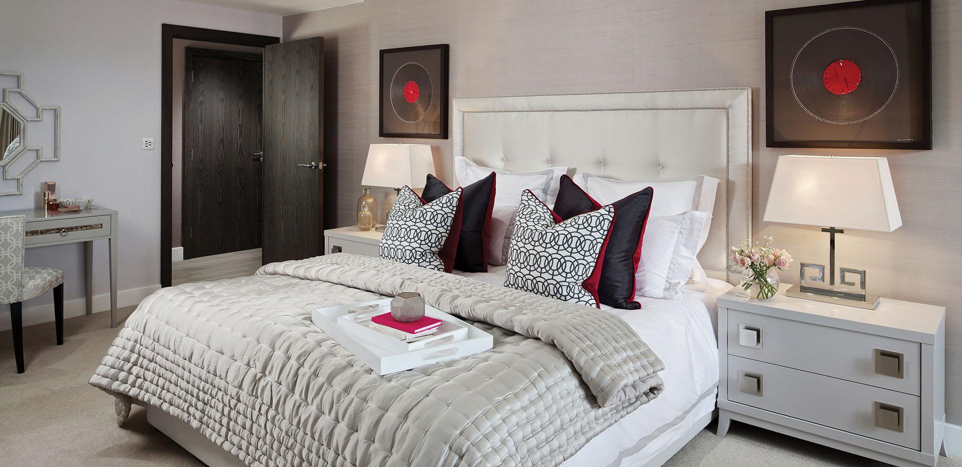 St George, Beaufort Park, 3 Bed, Premier, Master Bedroom