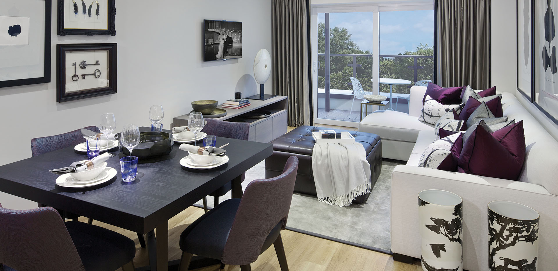 St George, Beaufort Park, 2 Bed, living room