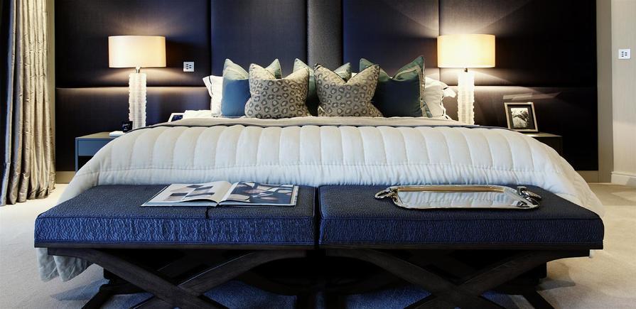 St George, Chelsea Creek, Three Bedroom Premier Show Apartment, Bedroom, Interior