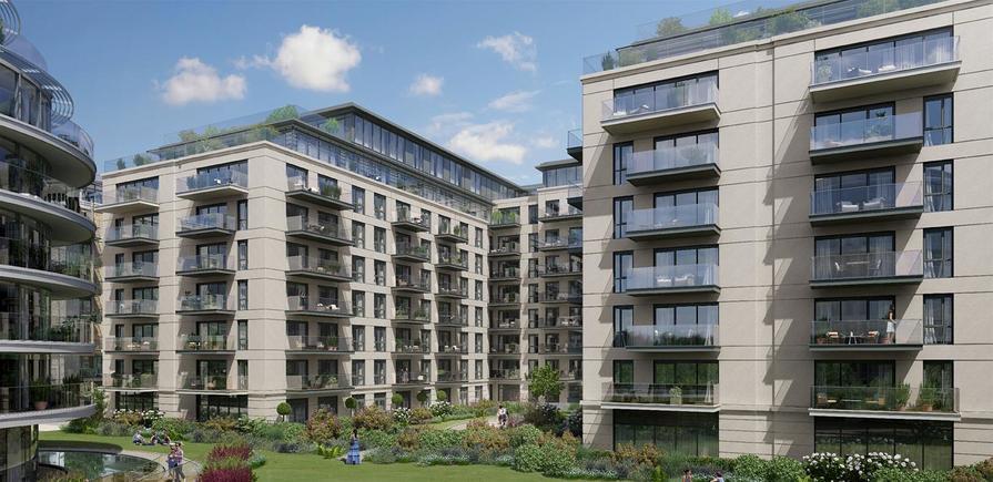 St George, Fulham Reach, Development Exteriors, Harrods Depository