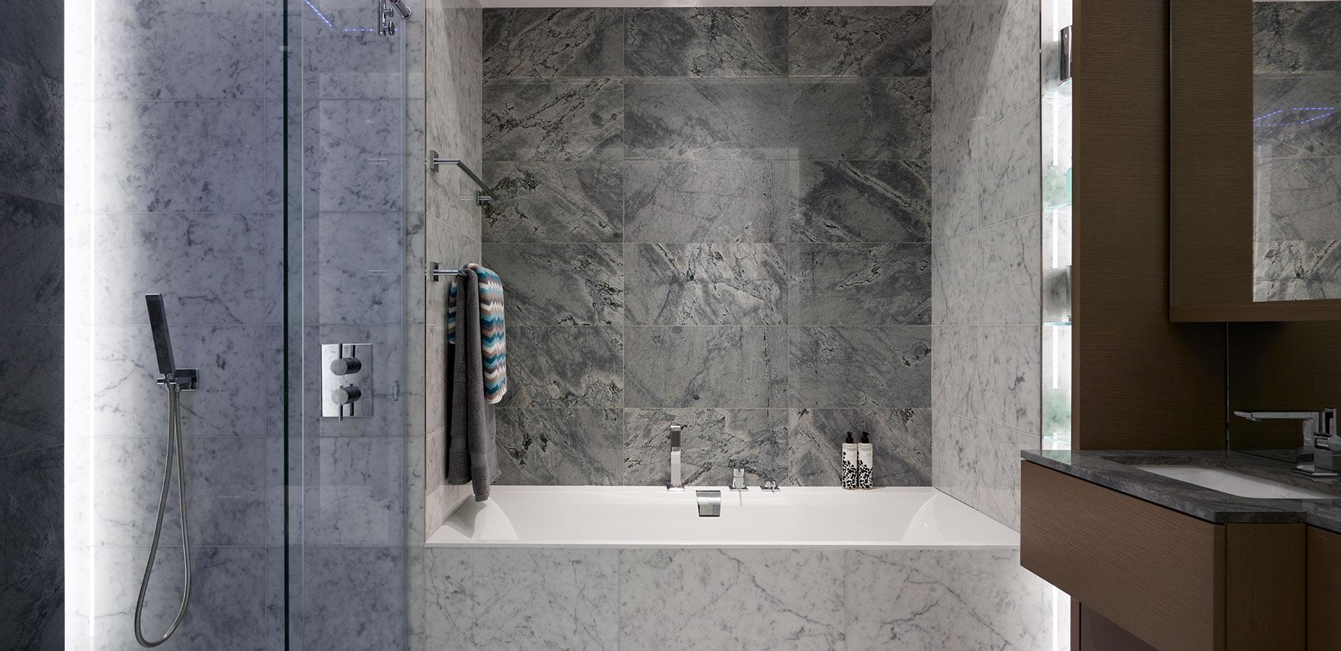 St George, Battersea Reach, Bathroom, Apartments