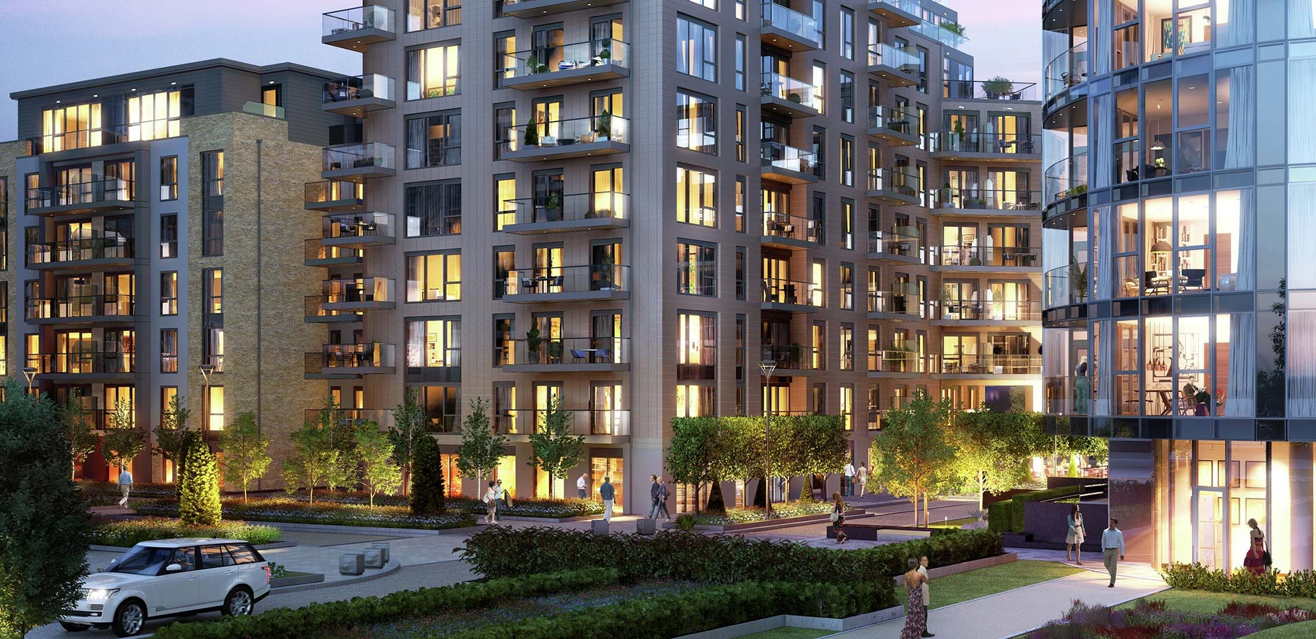 St George, Battersea Reach, Development Exterior