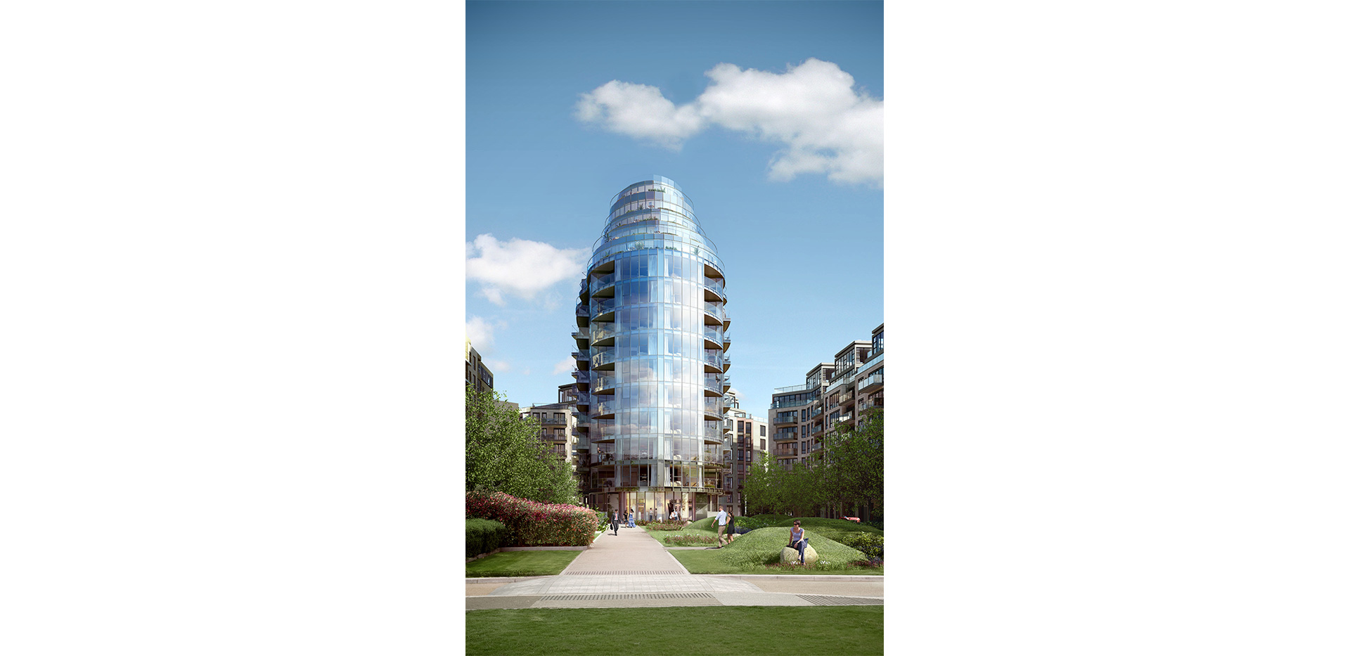 Berkeley, Battersea Reach, Development Exterior 03