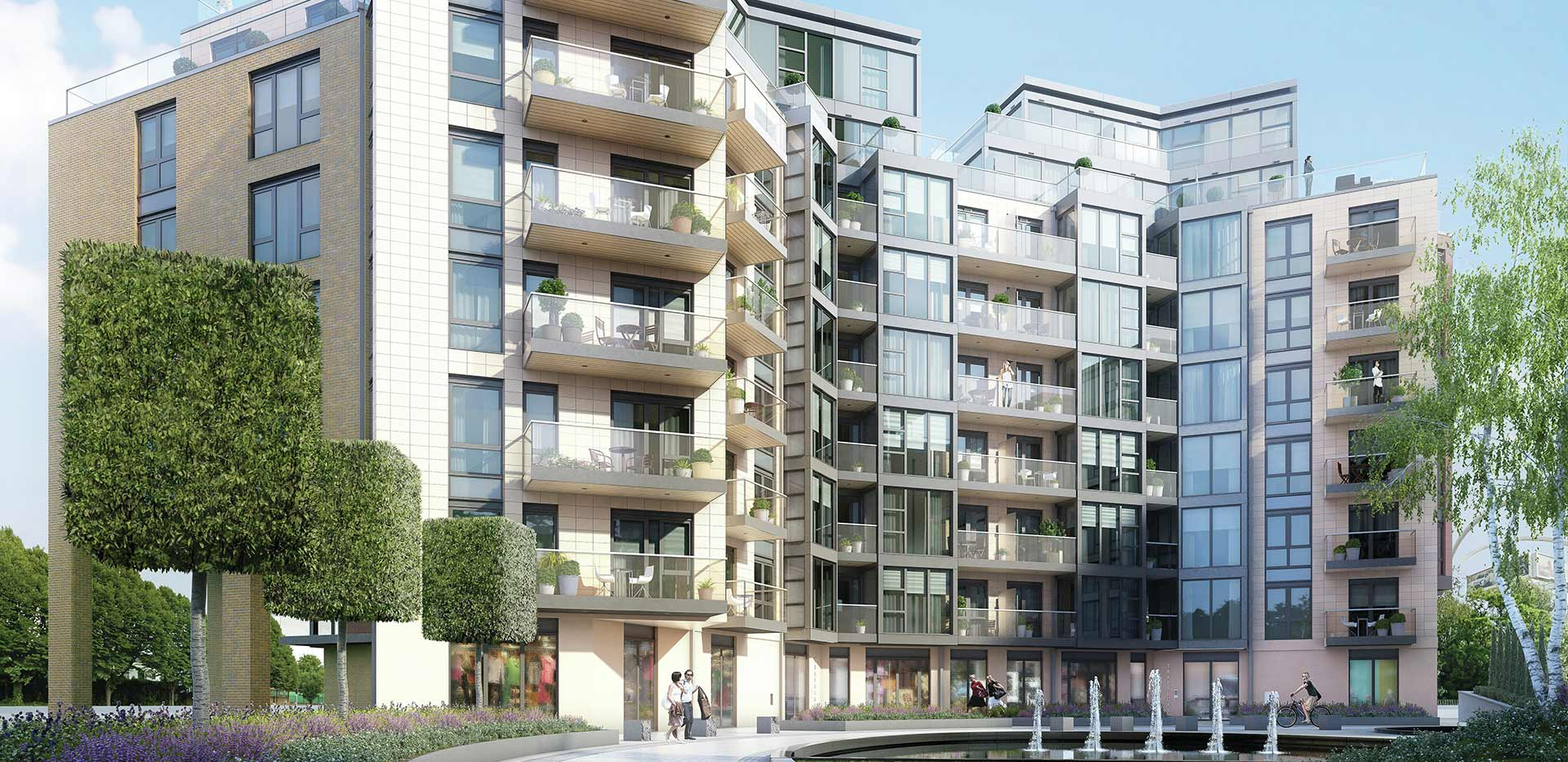Berkeley, Battersea Reach, Development Exterior 04