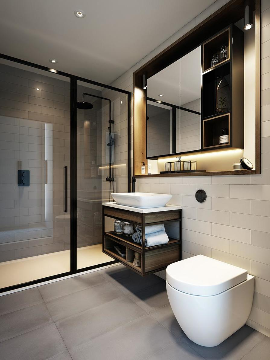 St George, Sovereign Court, Interior, Bathroom 1