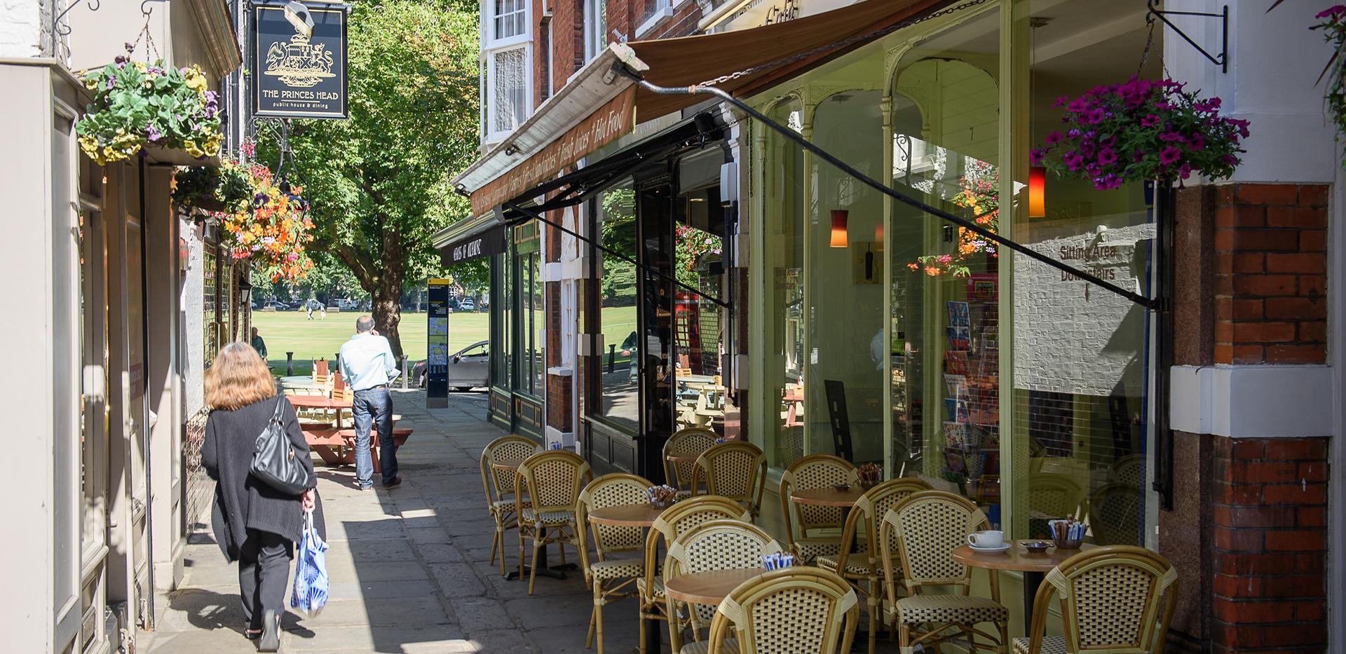 St James, Fitzroy Gate,Richmond Shops