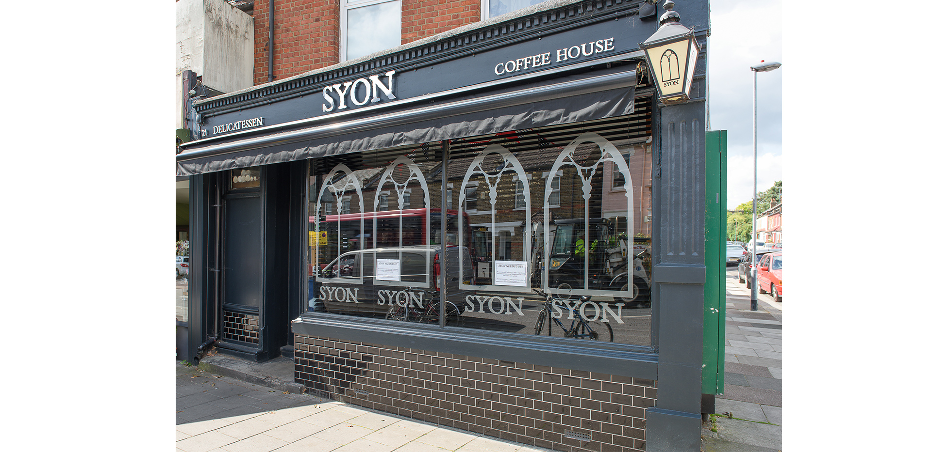 St James, Fitzroy Gate, Syon Coffee house
