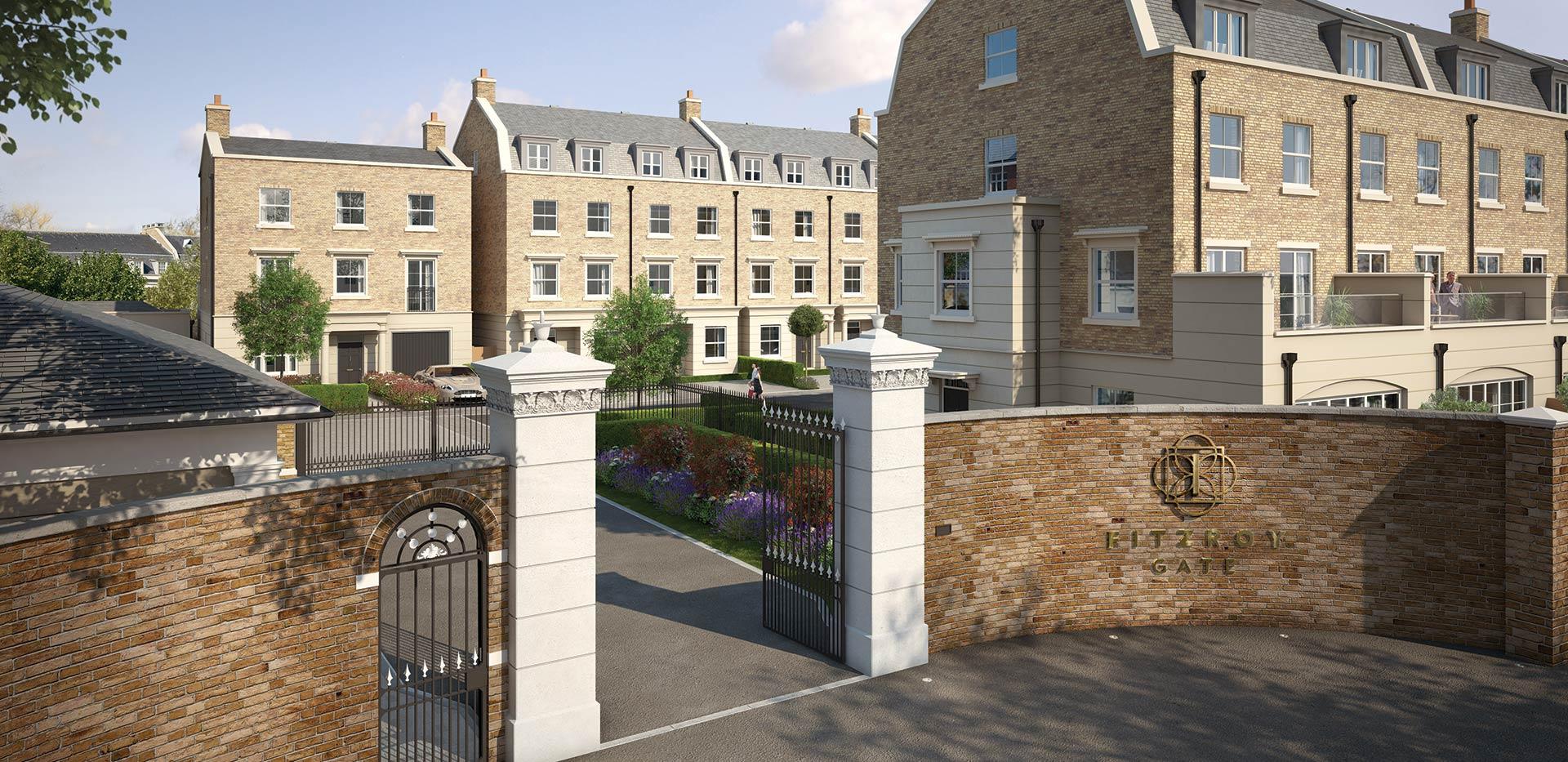 St James, Fitzroy Gate, Entrance, Exterior