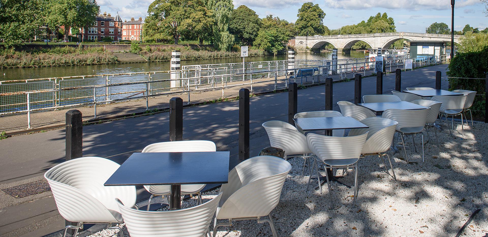 St James, Fitzroy Gate, River view