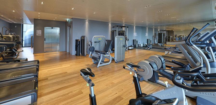 St James, Riverlight, Gym, Interior