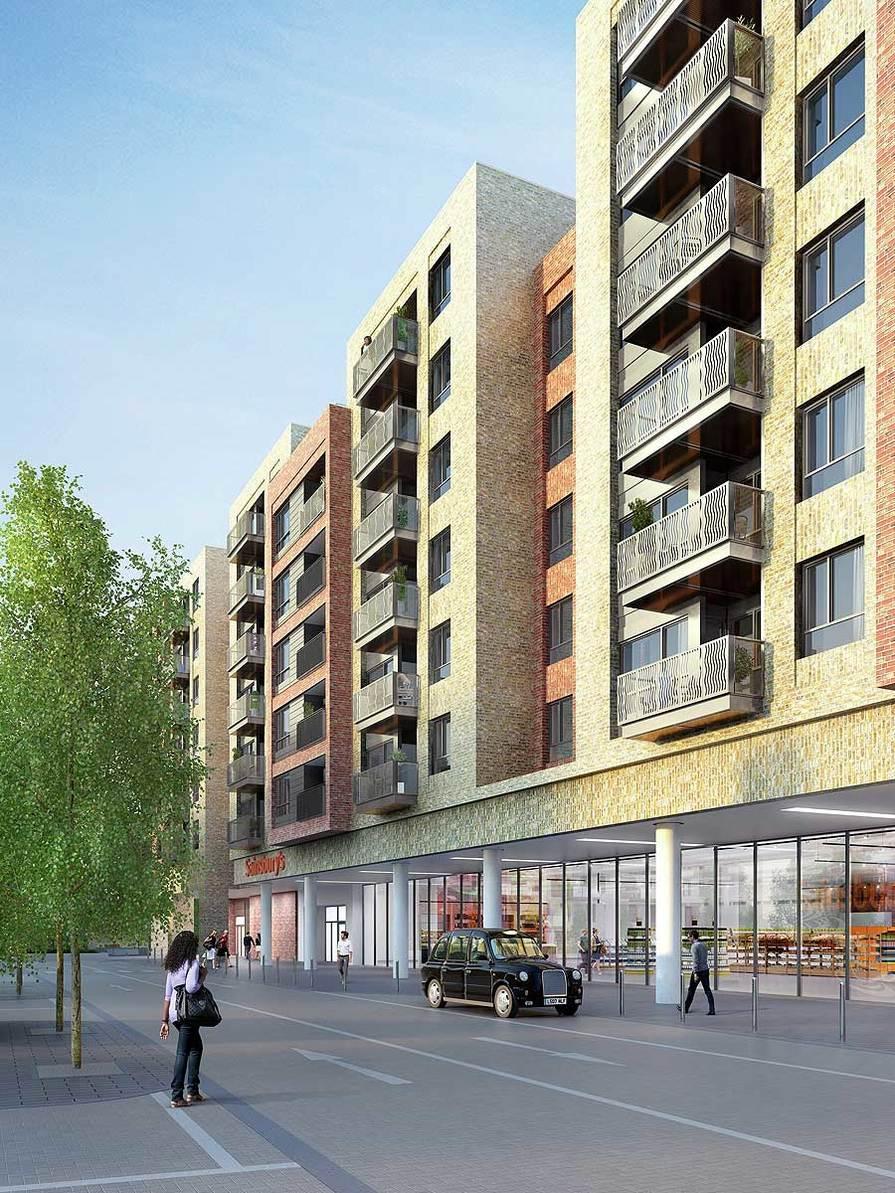 St James, Smithfield Square, Exterior, View 01