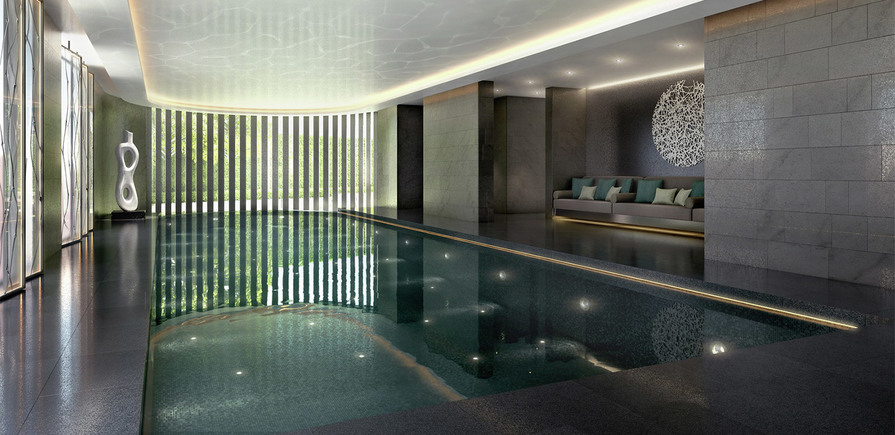 St James, The Corniche, Pool, Residents Only, Interior