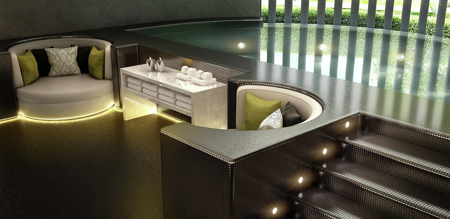 St James, The Corniche, Pool, Spa, Residents Only, Interior
