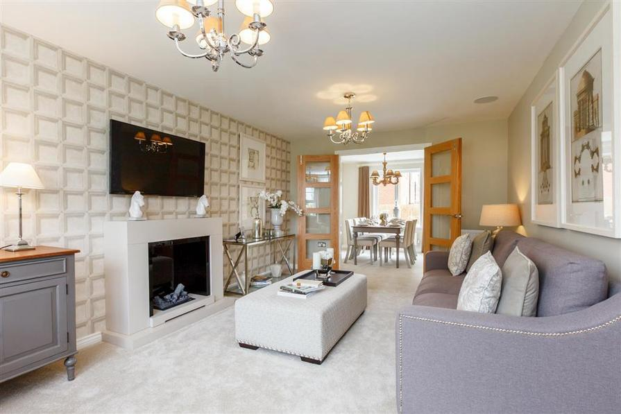 Actual Image of The Eynsham Showhome at Albion Lock