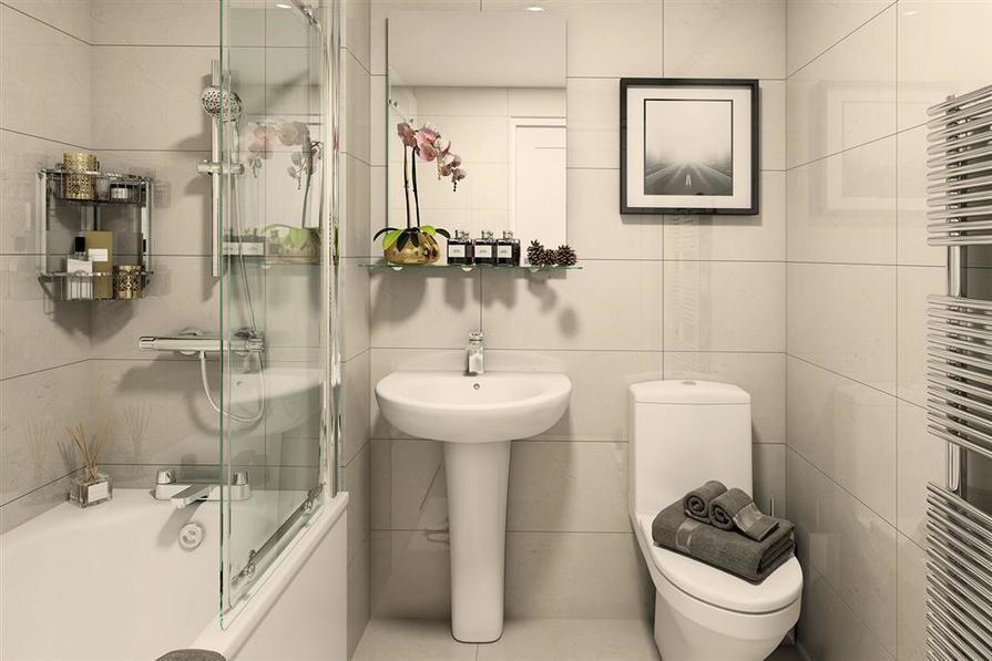 Block B1 Plot 43_Bathroom