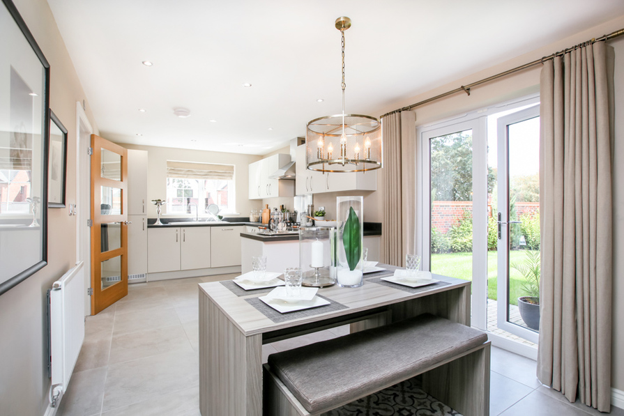 Actual Image from The Chelford Showhome at Bramley Wood