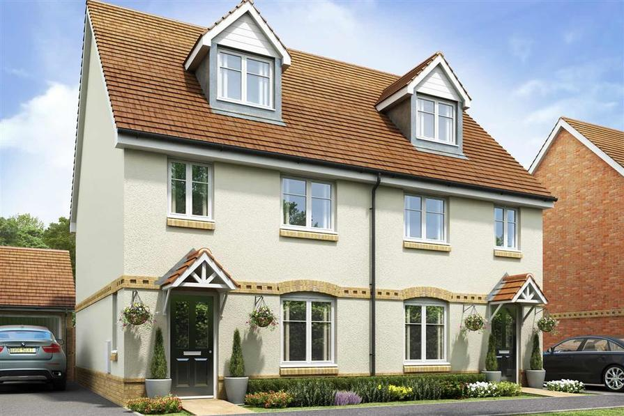 Artists impression of a typical Crofton home