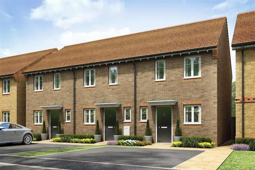 Artists impression of a typical Canford home