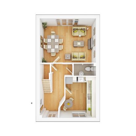 Taylor-Wimpey-Flatford-3-bed-3D-GF-Floorplan