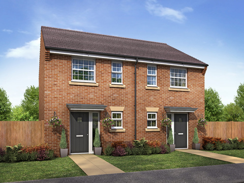 2 Bed Semi-detached - Plot 2 Bed Semi-detached