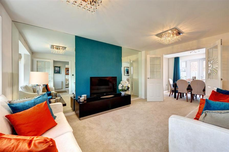 Image shows Alverton show home, Clarence Court