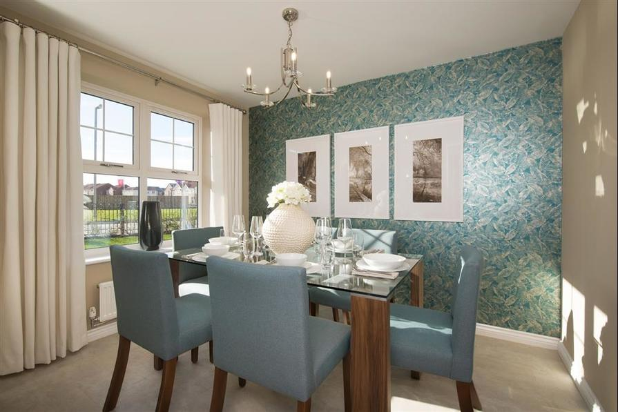Image shows Aldenham show home, Middlewood Moor, Ushaw Moor