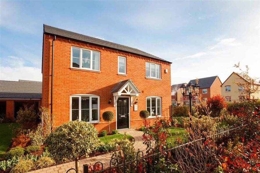 Typical example of a Taylor Wimpey Thornford home