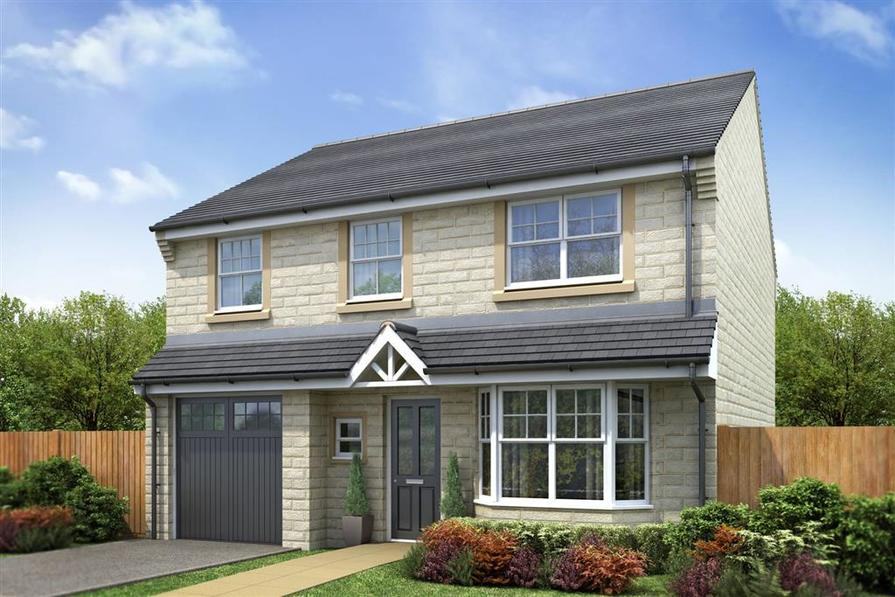 Artist Impression of The Downham at Dale Moor View