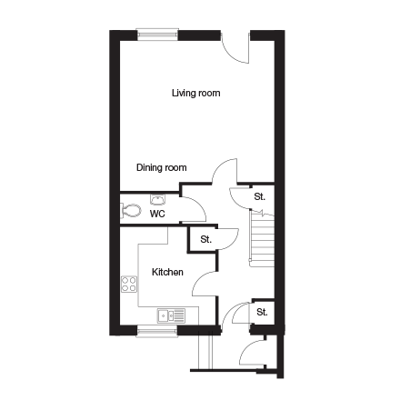 Taylor-Wimpey-Burford-3-bedroom-ground-floor-plan
